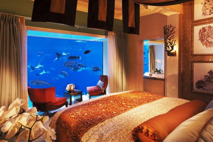 Suite sous l'eau - Chambre