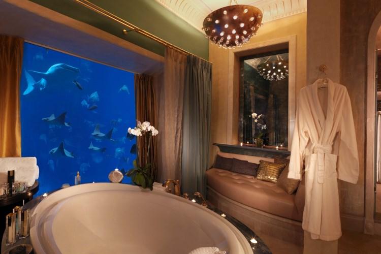 Suite sous l'eau - Salle de bains