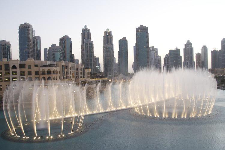 Fontaine de Dubaï