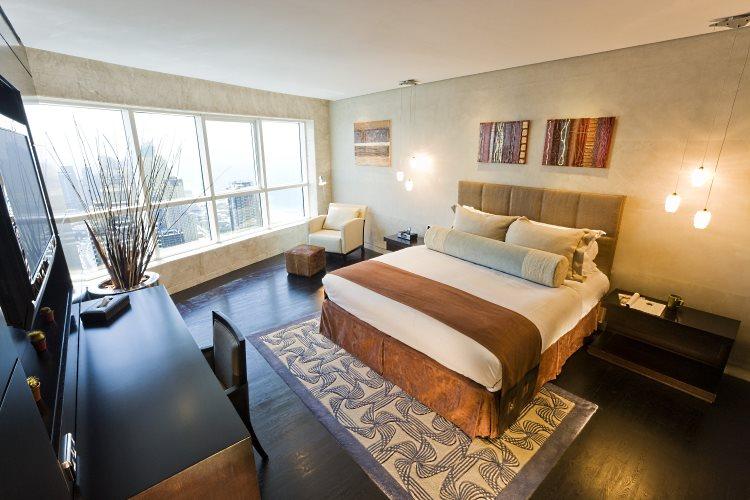 Chambre d'un Penthouse
