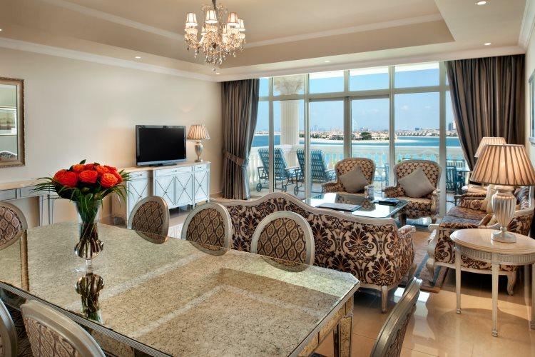 Kempinski The Palm - Penthouse 3 chambres - Salon