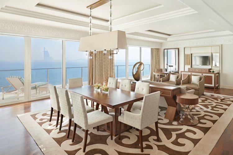 Waldorf Astoria Dubaï - Suite Waldorf - Salon
