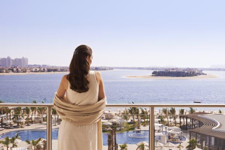Waldorf Astoria Dubaï - Vue sur The Palm