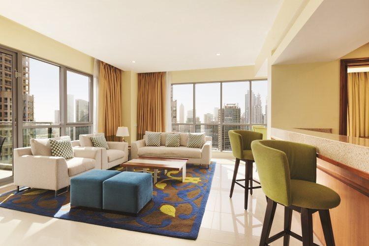 Ramada Downtown Dubaï - Suite 1 chambre - Salon
