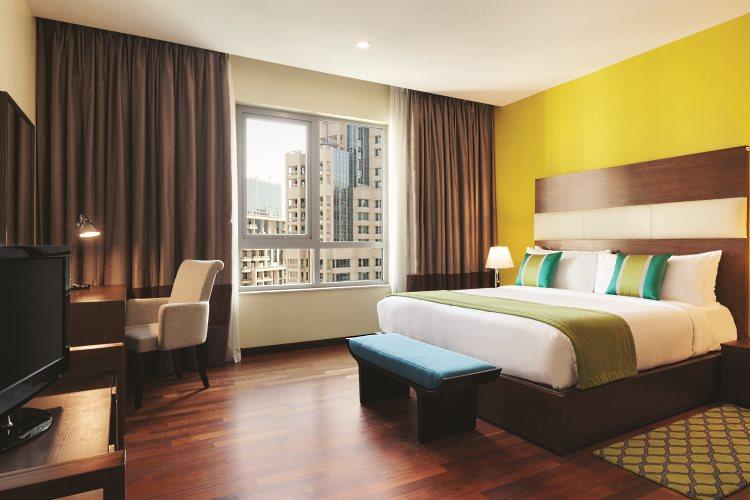 Ramada Downtown Dubaï - Suite 2 chambres - Chambre principale