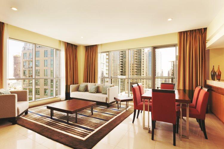 Ramada Downtown Dubaï - Suite 2 chambres - Salon