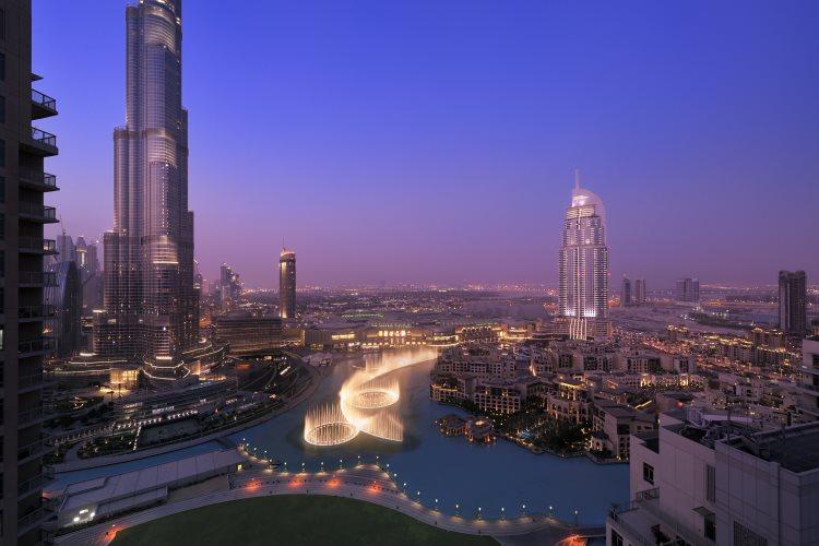 Vue sur le Burj Khalifa