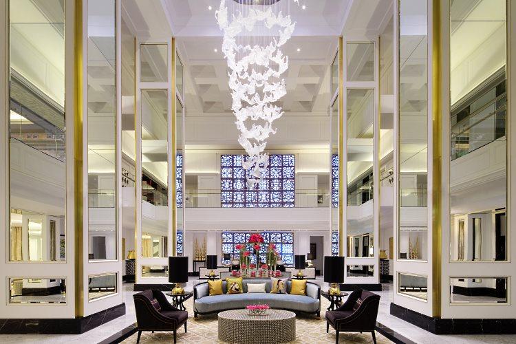 Lobby du Taj Dubaï