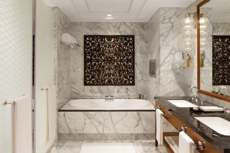 Suite Luxe avec vue Burj - Salle de bains