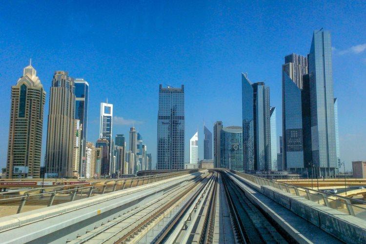 Le métro de Dubaï
