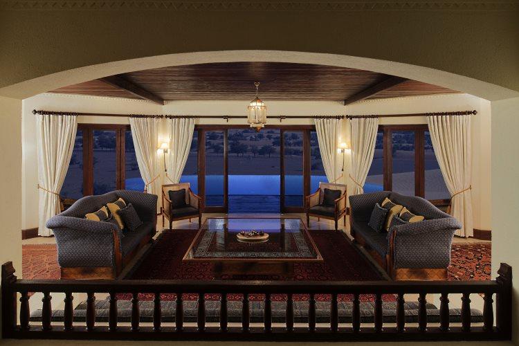 Suite Emirates - Salon