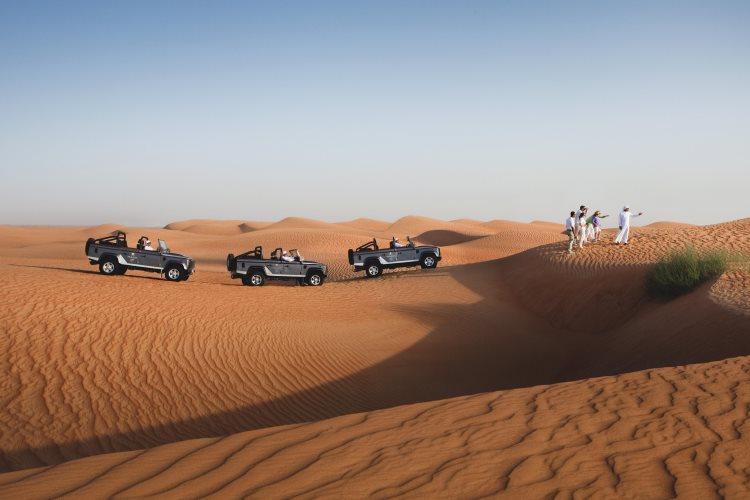 Promenade dans le désert