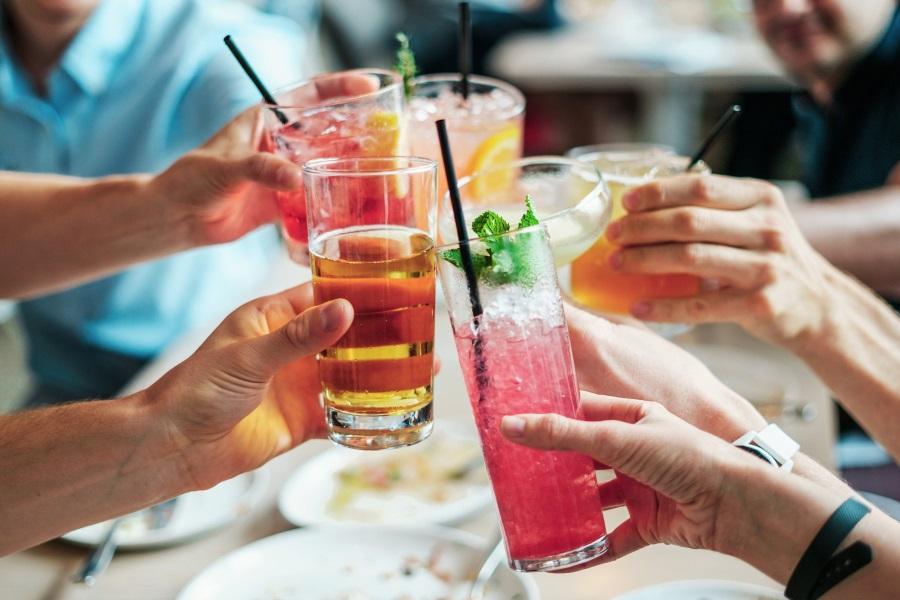 Boire de l'alcool à Dubaï