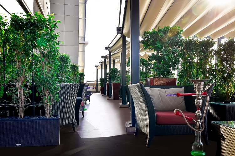 Al Ghurair Rayhaan - Terrasse du restaurant Liwan