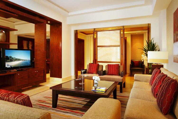 Amwaj Rotana - Salon de la suite