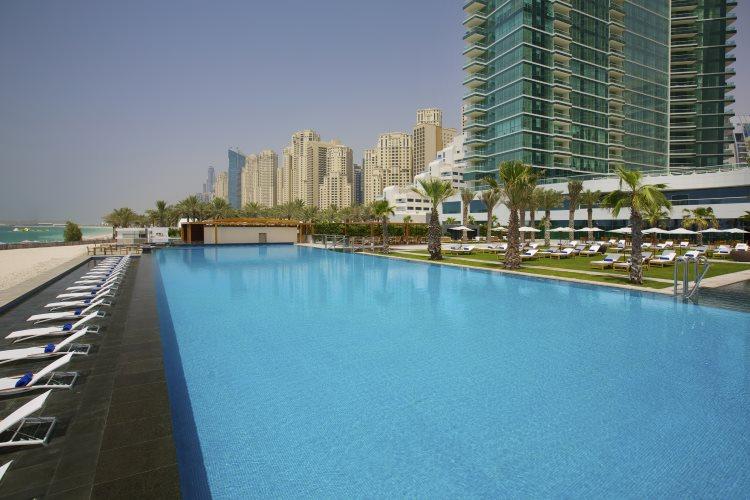 DoubleTree by Hilton Jumeirah Beach - Piscine