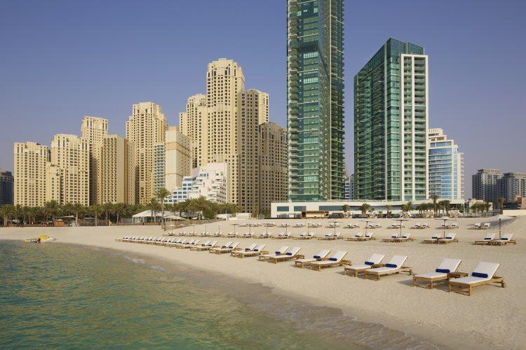 DoubleTree by Hilton Jumeirah Beach - Plage privée