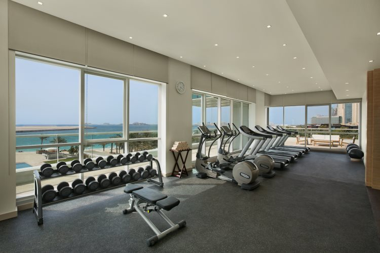 DoubleTree by Hilton Jumeirah Beach - Salle de fitness