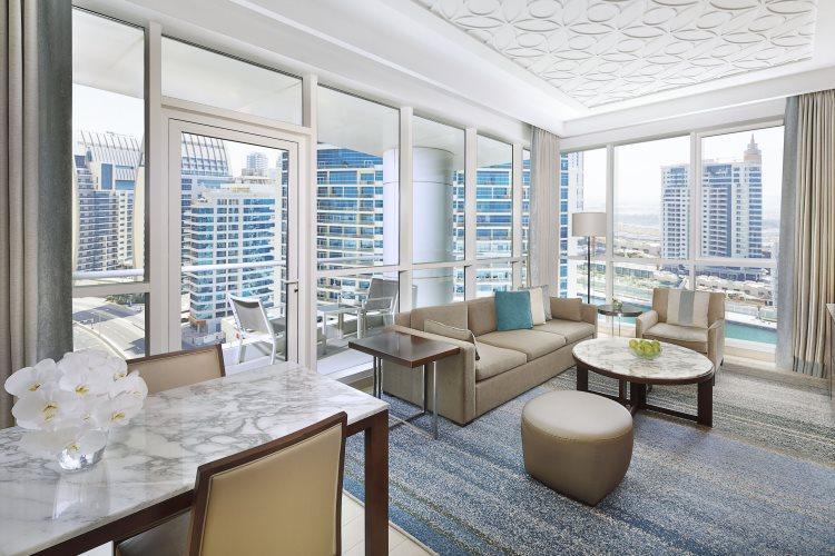 DoubleTree by Hilton Jumeirah Beach - Suite - Salon en coin