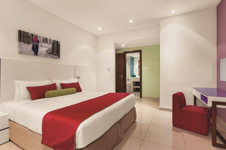 Hawthorn Suites by Wyndham Dubaï - Appartement 1 chambre Vue ville