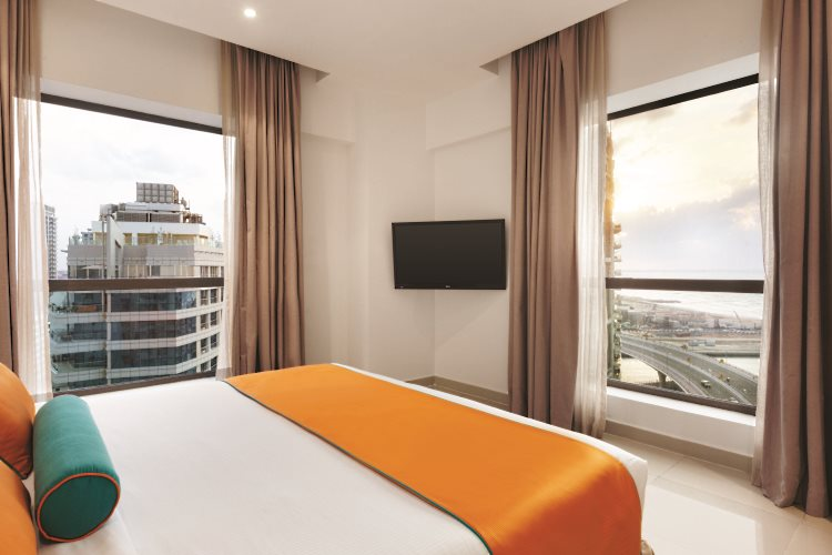 Hawthorn Suites by Wyndham Dubaï - Appartement 2 chambres - Chambre principale