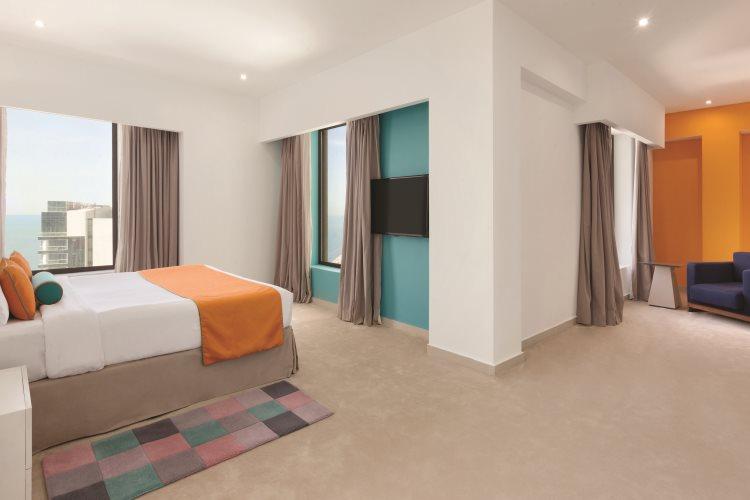 Hawthorn Suites by Wyndham Dubaï - Duplex - Chambre principale
