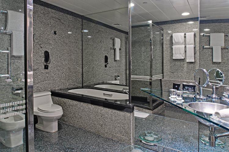 Hilton Dubaï Creek - Chambre Executive - Salle de bains
