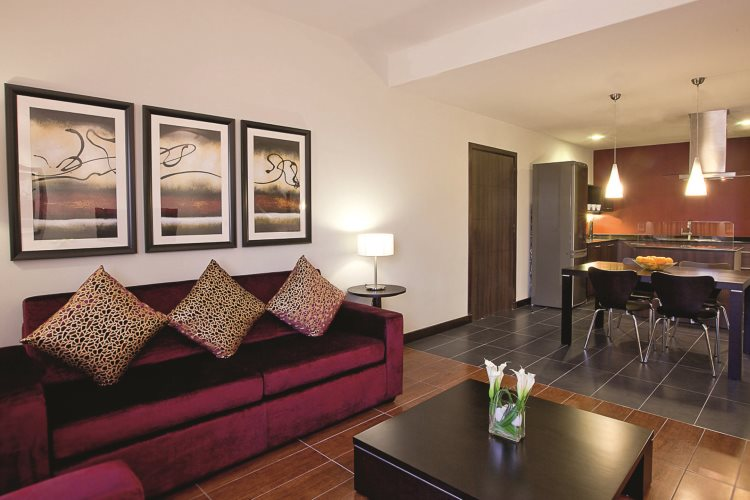 Mövenpick Al Mamzar - Appartement avec une chambre - Salon