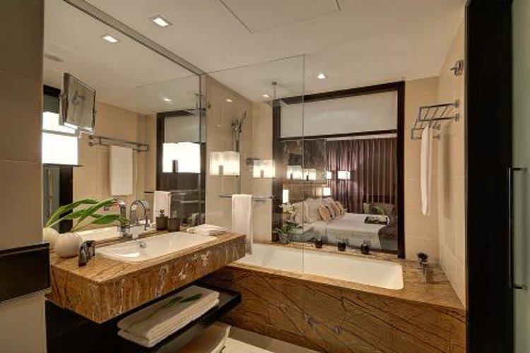 Chambre deluxe - Salle de bains