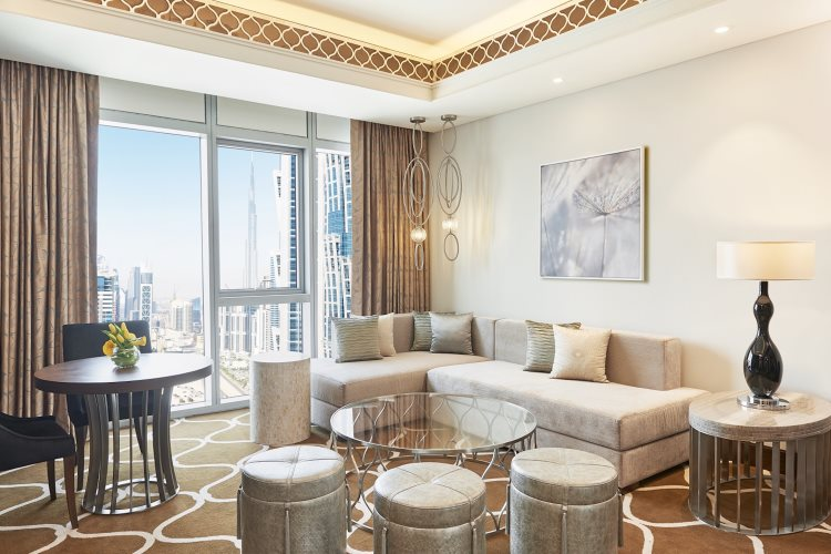 Westin Dubaï - Suite Exécutive Suite - Salon