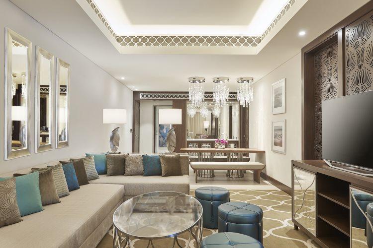 Westin Dubaï - Suite Familiale - Salon