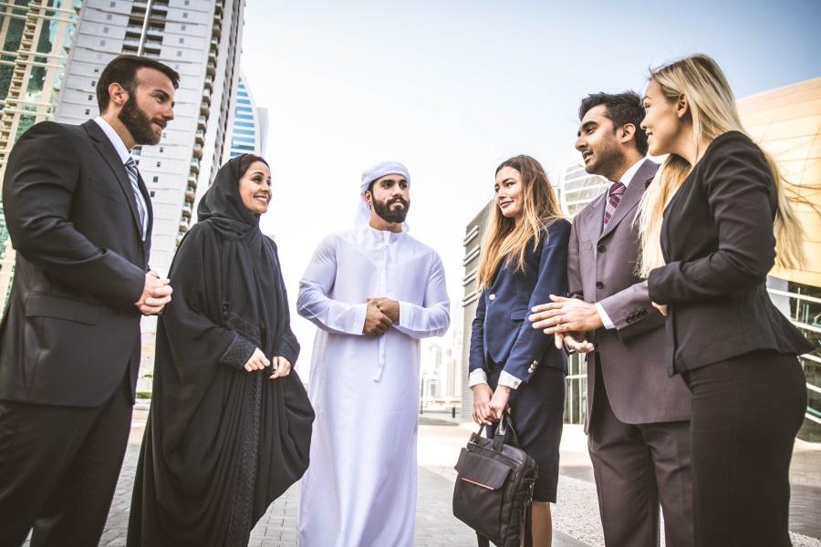 Parler l'arabe à Dubaï