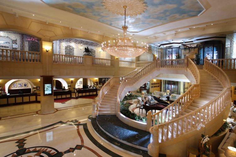 Carlton Palace Dubaï - Lobby
