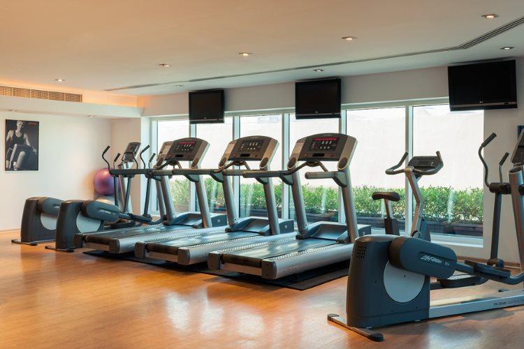 Four Points by Sheraton Downtown Dubaï - Salle de fitness