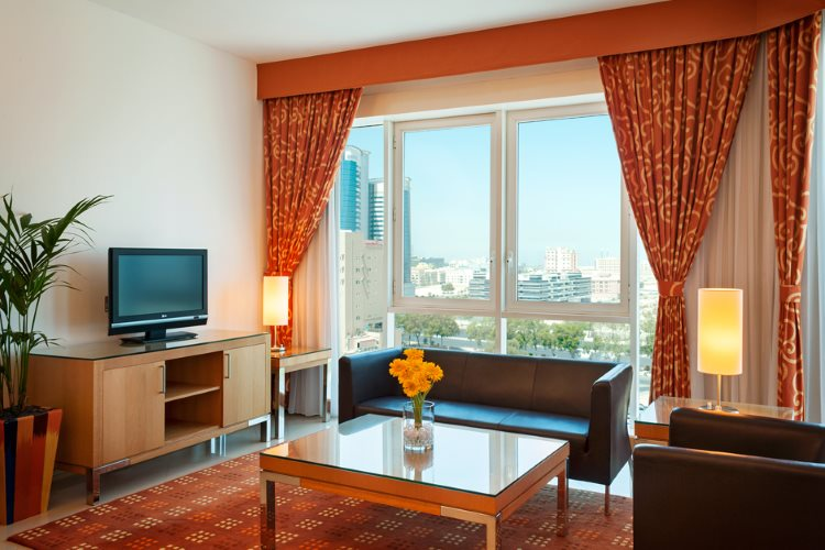 Four Points by Sheraton Downtown Dubaï - Suite 1 Chambre - Salon