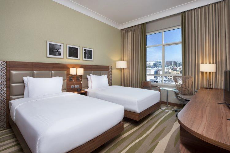 Hilton Garden Inn Al Muraqabat - Chambre Double