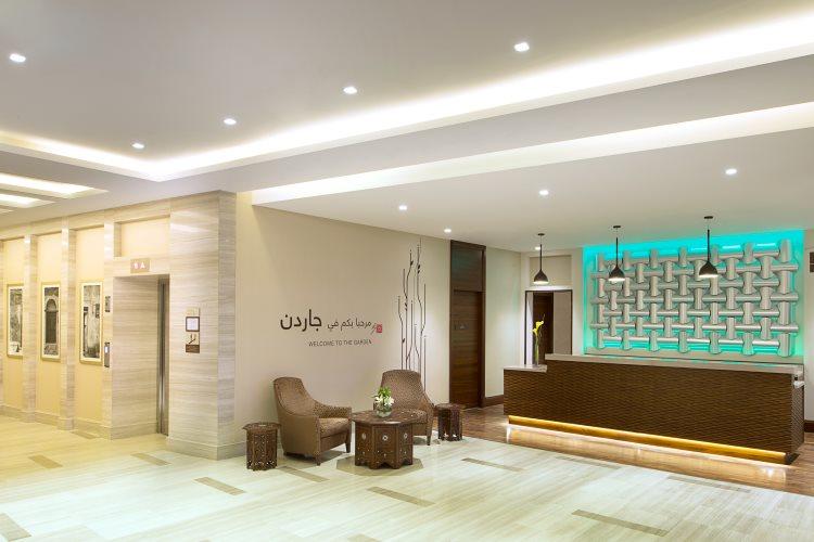 Hilton Garden Inn Al Muraqabat - Lobby