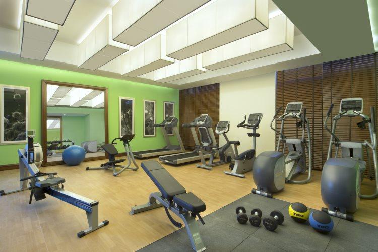 Hilton Garden Inn Al Muraqabat - Salle de Fitness