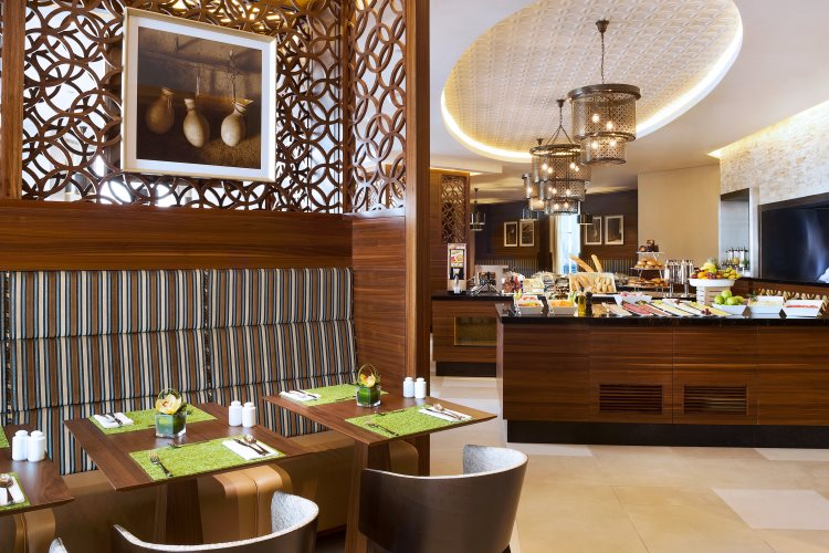 Hilton Garden Inn Al Mina - Buffet du petit déjeuner
