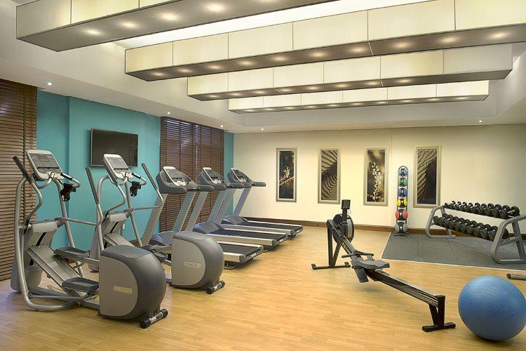 Hilton Garden Inn Al Mina - Salle de remise en forme