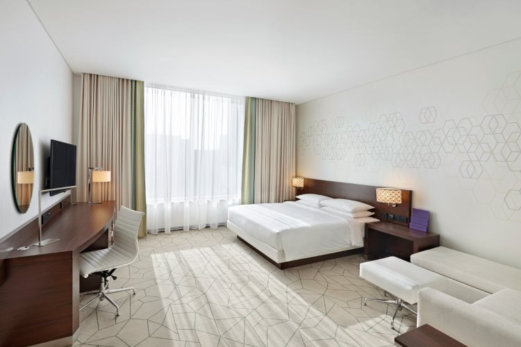 Hyatt Place Baniyas Square - Chambre King