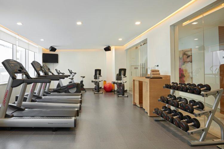 Hyatt Place Baniyas Square - Salle de fitness