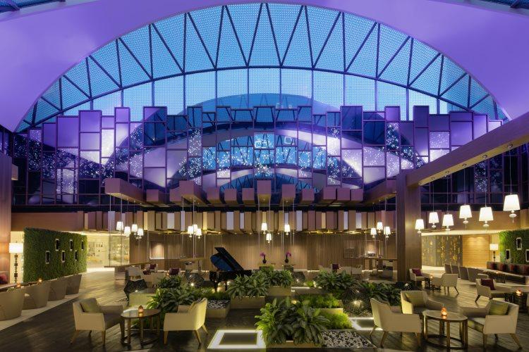 Hyatt Regency Dubaï Creek Heights - Lobby Lounge