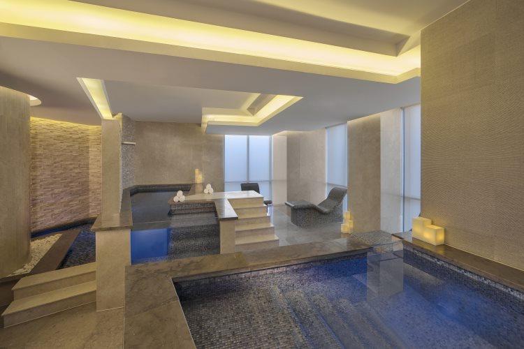 Hyatt Regency Dubaï Creek Heights - Piscine intérieure