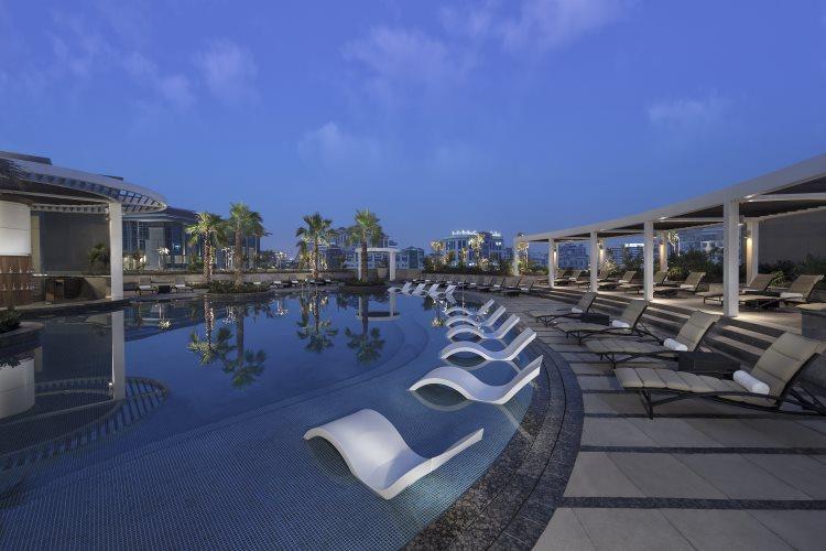 Hyatt Regency Dubaï Creek Heights - Piscine
