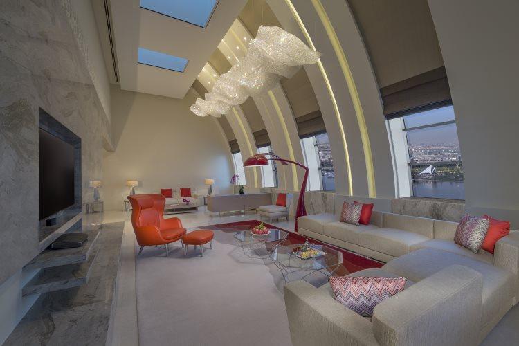 Hyatt Regency Dubaï Creek Heights - Royal Suite - Salon