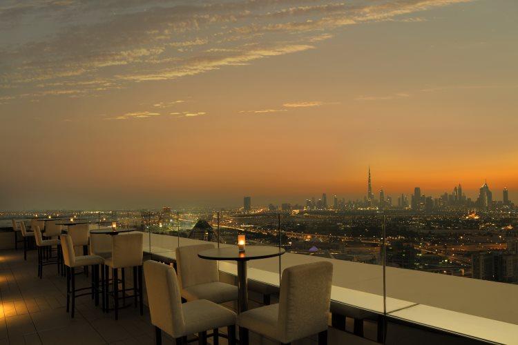 Hyatt Regency Dubaï Creek Heights - Terrasse Hue