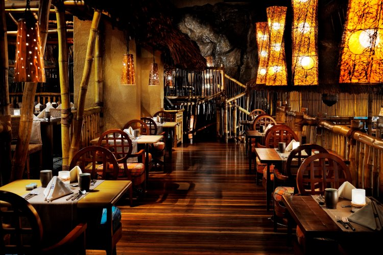 JW Marriot Dubaï - Restaurant Bamboo Lagoon