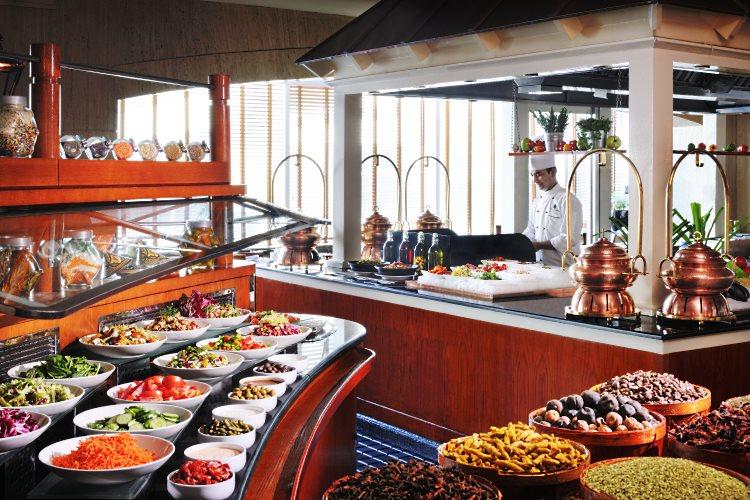 JW Marriot Dubaï - Restaurant The Market Place