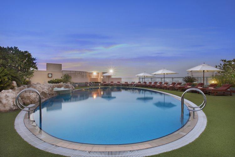 Jood Palace Dubaï - Piscine